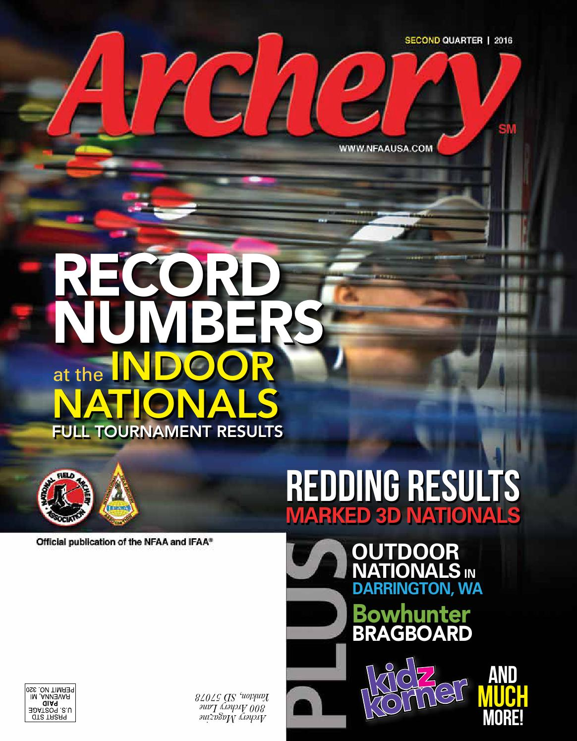 2016 Second Quarter By National Field Archery Association Issuu