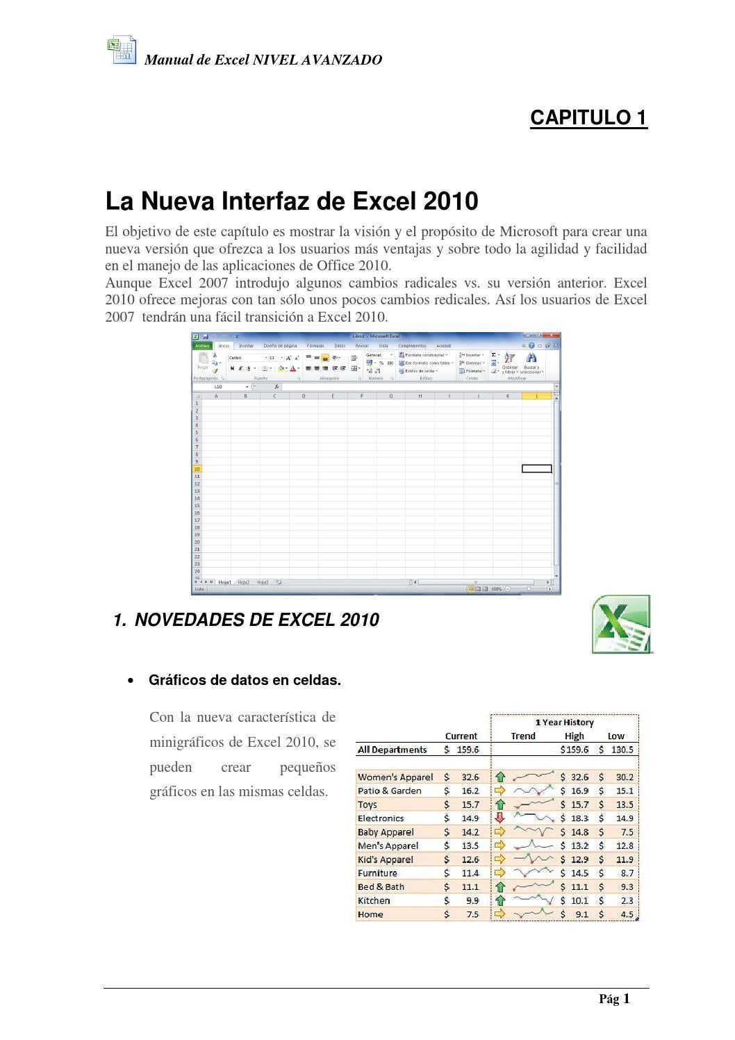 Raiz Cuadrada En Excel 2010 Manual Excel Nivel Avanzado By Jose Estrada Issuu
