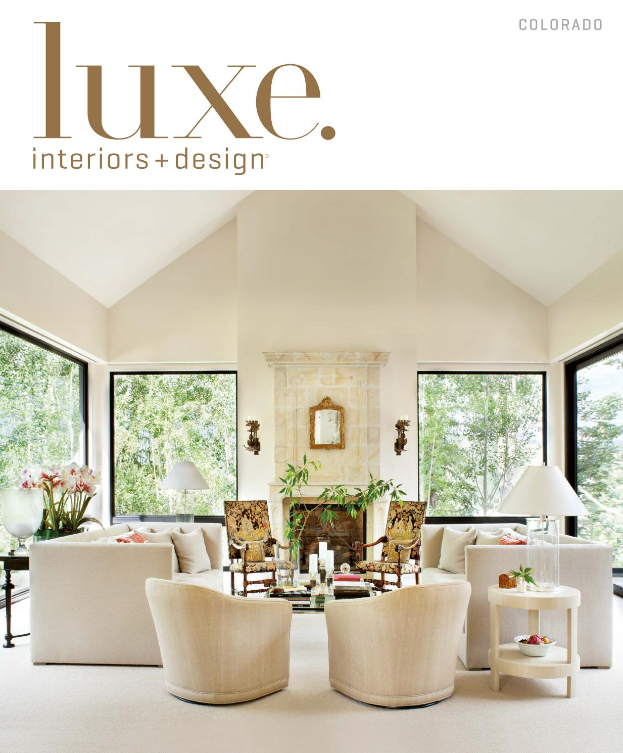 Milk Decoration Axel Vervoordt Luxe Magazine July 2016 Colorado By Sandow Issuu