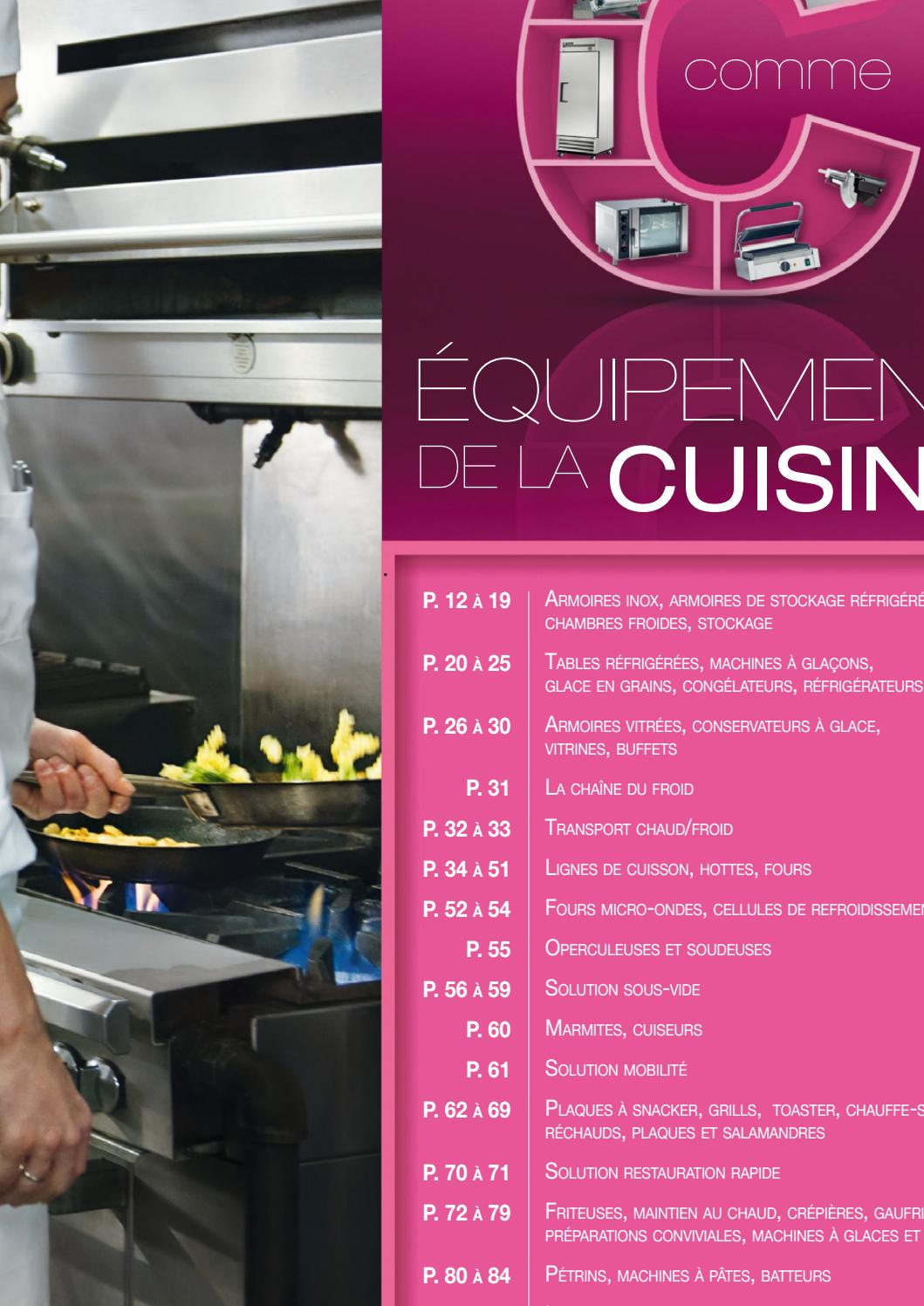 Chambre Froide Positive Metro Metro Chr Equipement De Cuisine By Madandaf Import Issuu