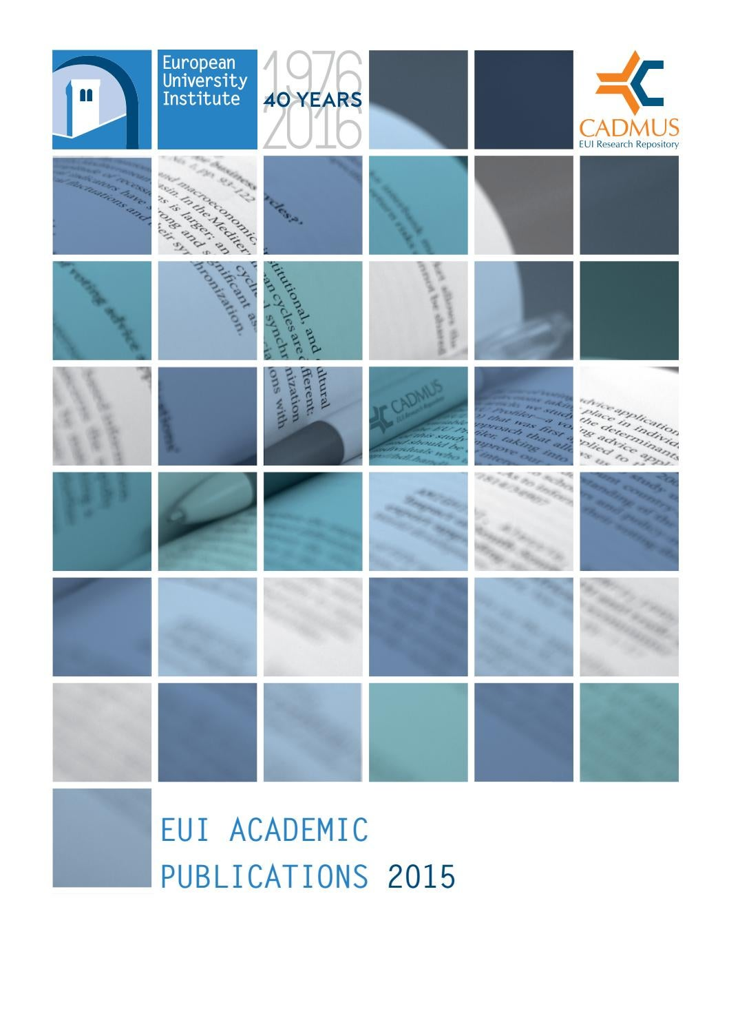 Cash Pool Frankreich Eui Academic Publications 2015
