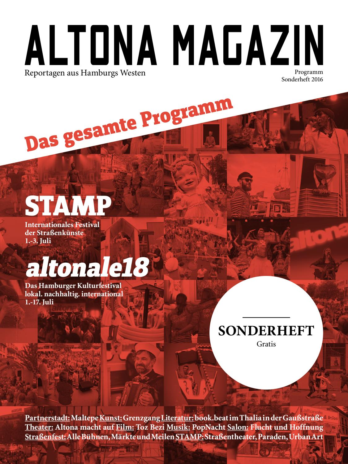 Altona Magazin Sonderheft Programm 2016 By Getting Up Issuu