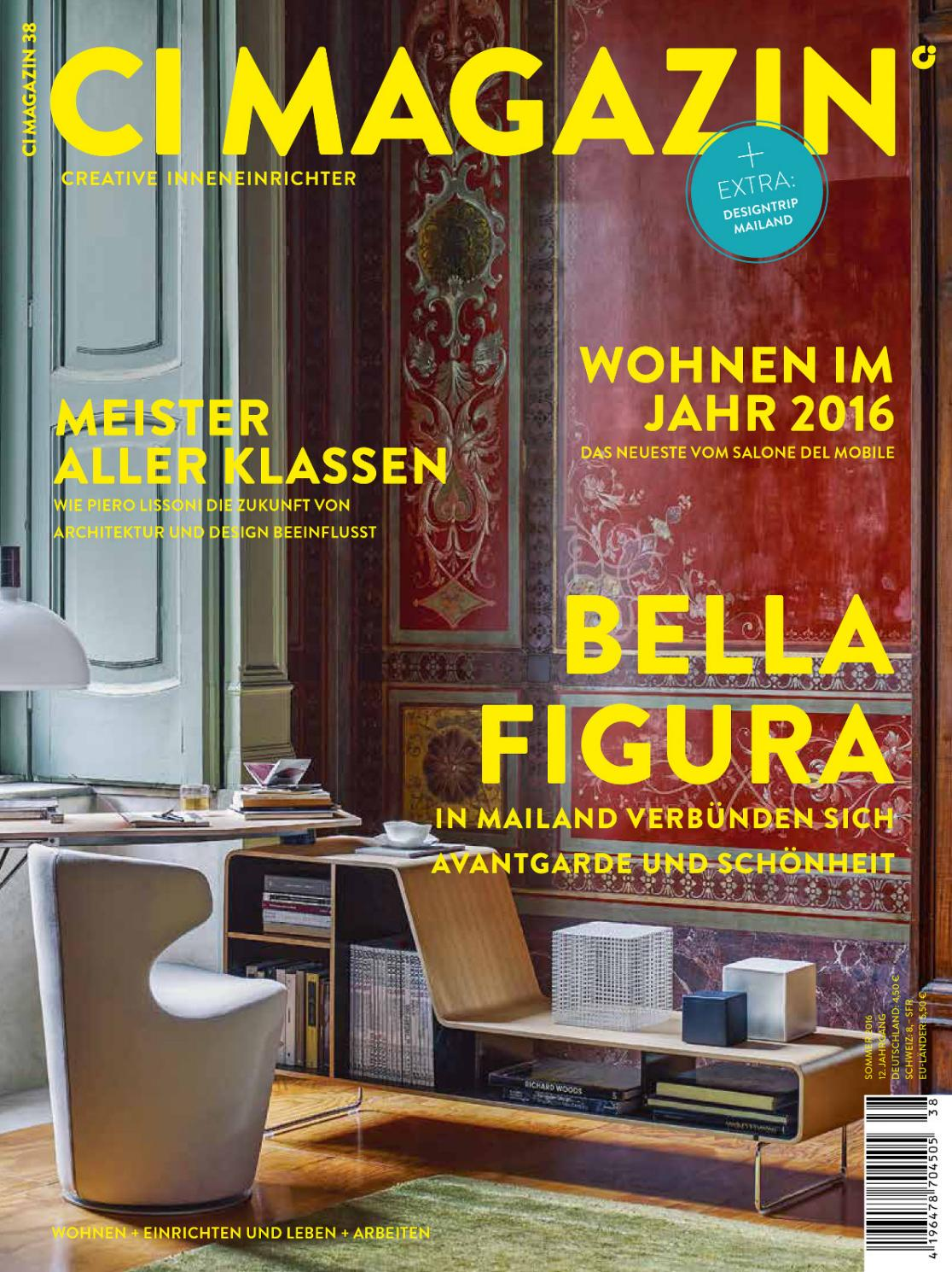 Möbeldesign Verdienst Ci Magazin 38 By Gärtner Internationale Möbel Issuu