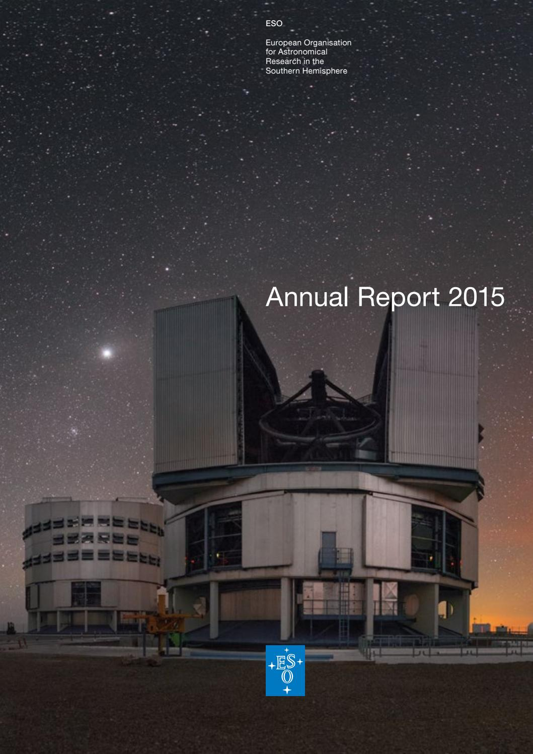 Container Haus Galileo Eso Annual Report 2015 By European Southern Observatory Issuu