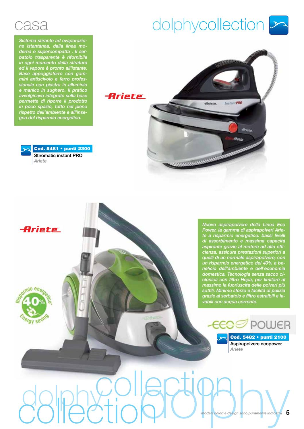 Aspirapolvere Ariete Eco Power Dolphy Collection Catalogo 2016 17 By Ciro Bosso Issuu