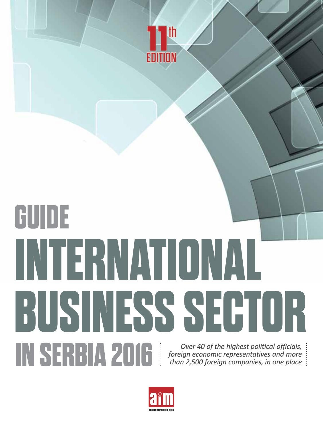 Adecco Salon De Provence International Business Sector In Serbia 2016