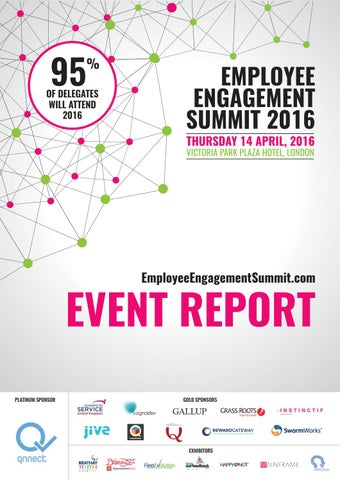 Employee Engagement Summit Event Report by Engage Business Media - employee superlatives