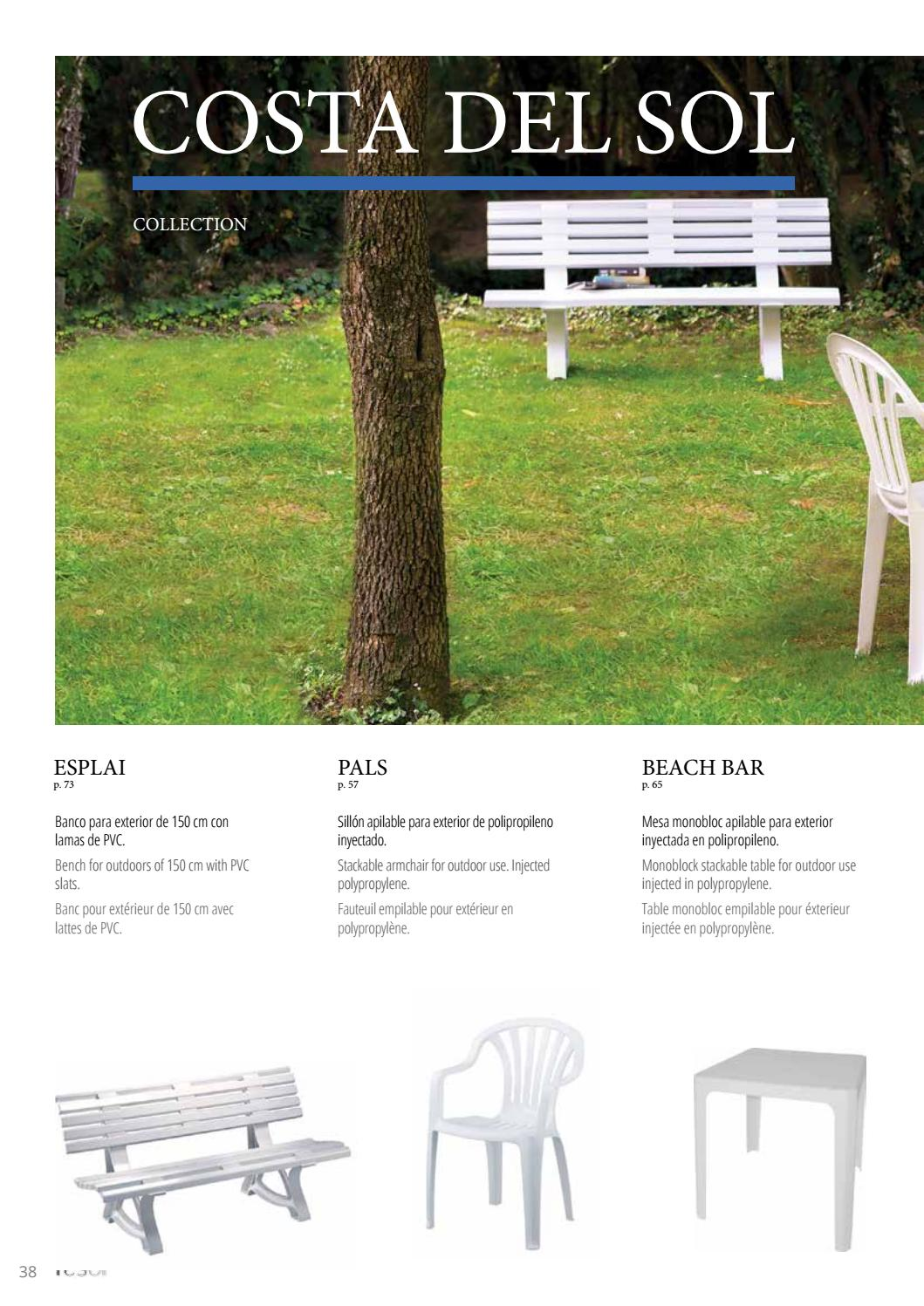 Table Pvc Exterieur Resol Garden 2016 By Carteco Design Centre Issuu