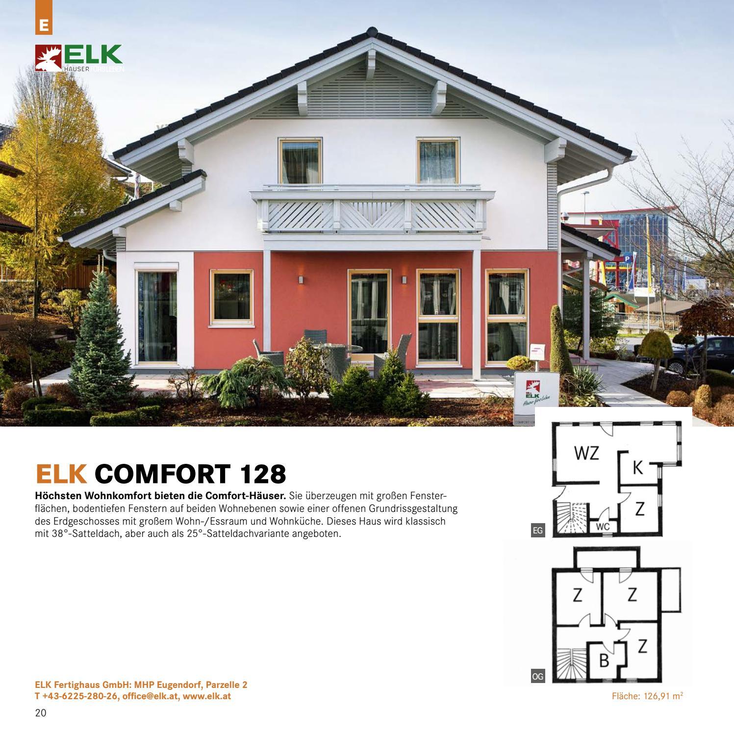 Elk Fertighaus Comfort 128