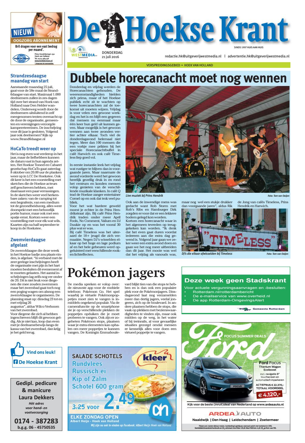 De Viersprong Pijnacker Zwembad Hk 2016 07 21 By Wl Media Issuu