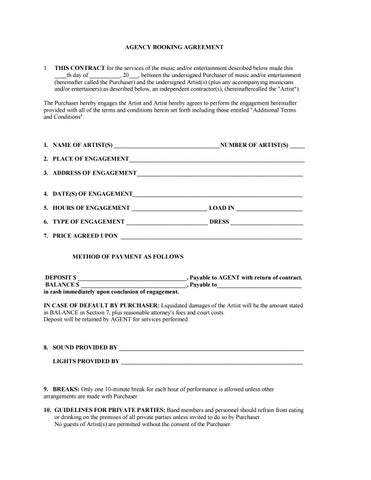 Music industry contract by Stopbeefinradio - issuu - music agreement contract