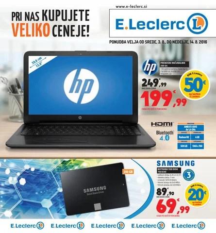 Entry4 Katalog E Leclerc Ljubljana Velja Od 03 08 Do 14 08