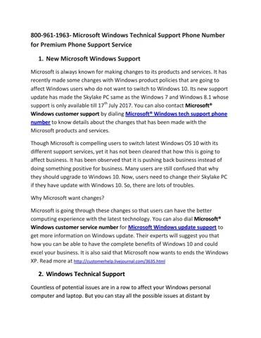 Microsoft Windows Support,Help-800-961-1963 by Daksh singhal - issuu