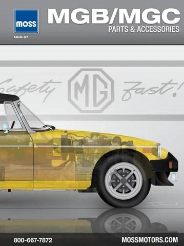moss motors mga wiring diagram mg mgb and mgc moss motors by moss