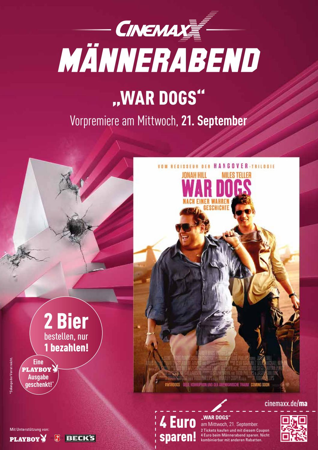 Cinemaxx Coupons Trendyone Das Magazin Augsburg September 2016