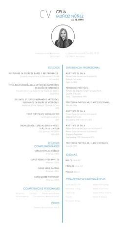 Curriculum Vitae Español by Celia Muñoz Nuñez - issuu