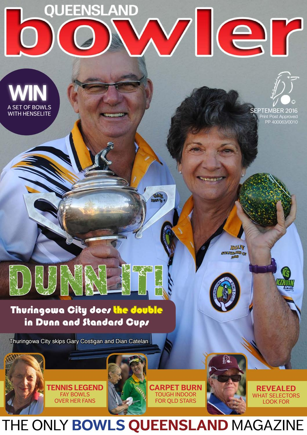 Bowls Qld September 2016 By Queensland Bowler Issuu