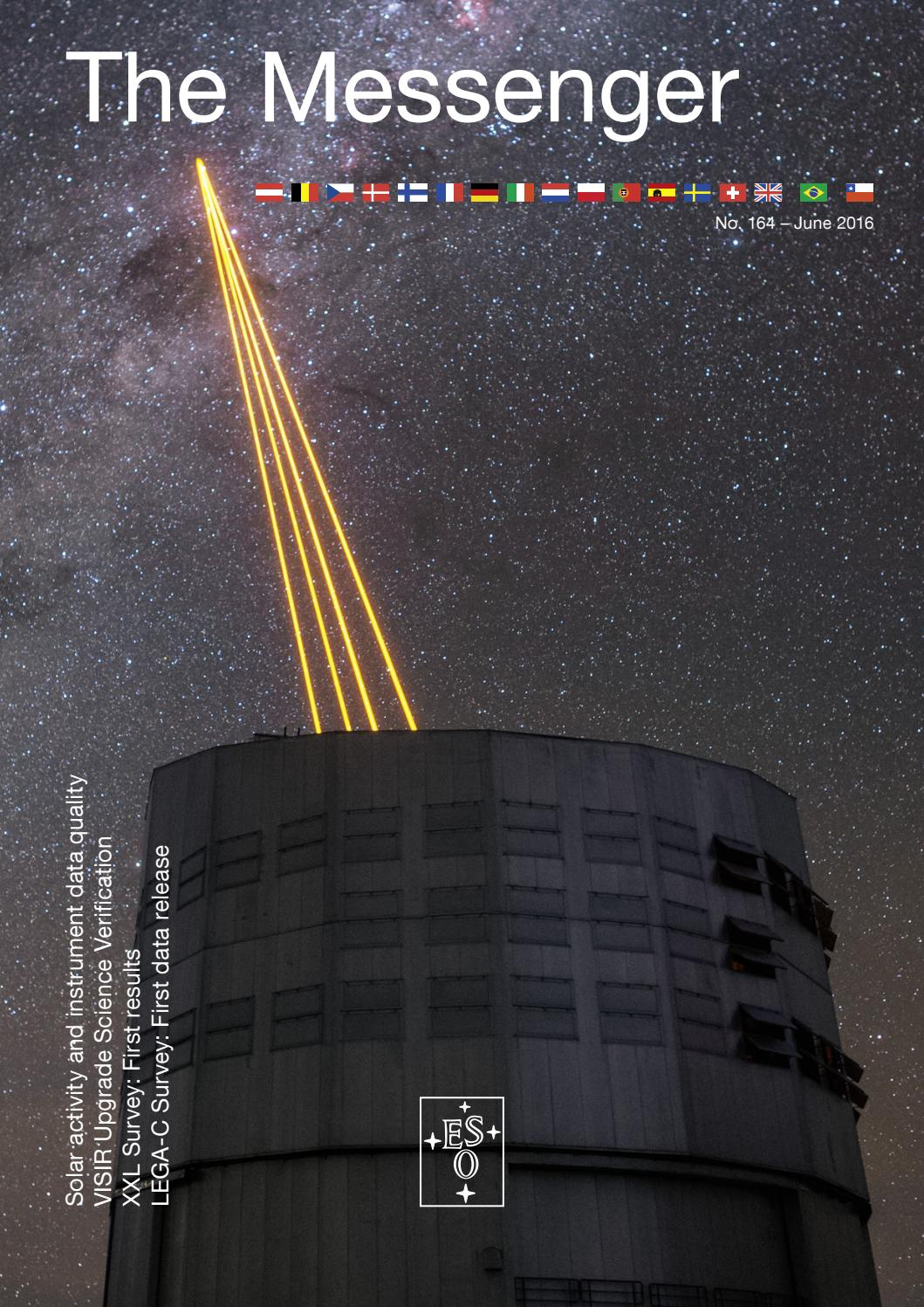 Xxl Lutz Young The Messenger 164 By European Southern Observatory Issuu