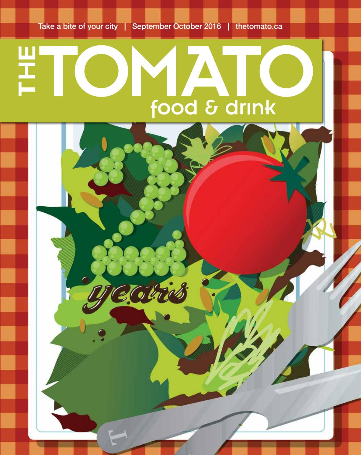 Tomato September October 2016 By Tomato Issuu