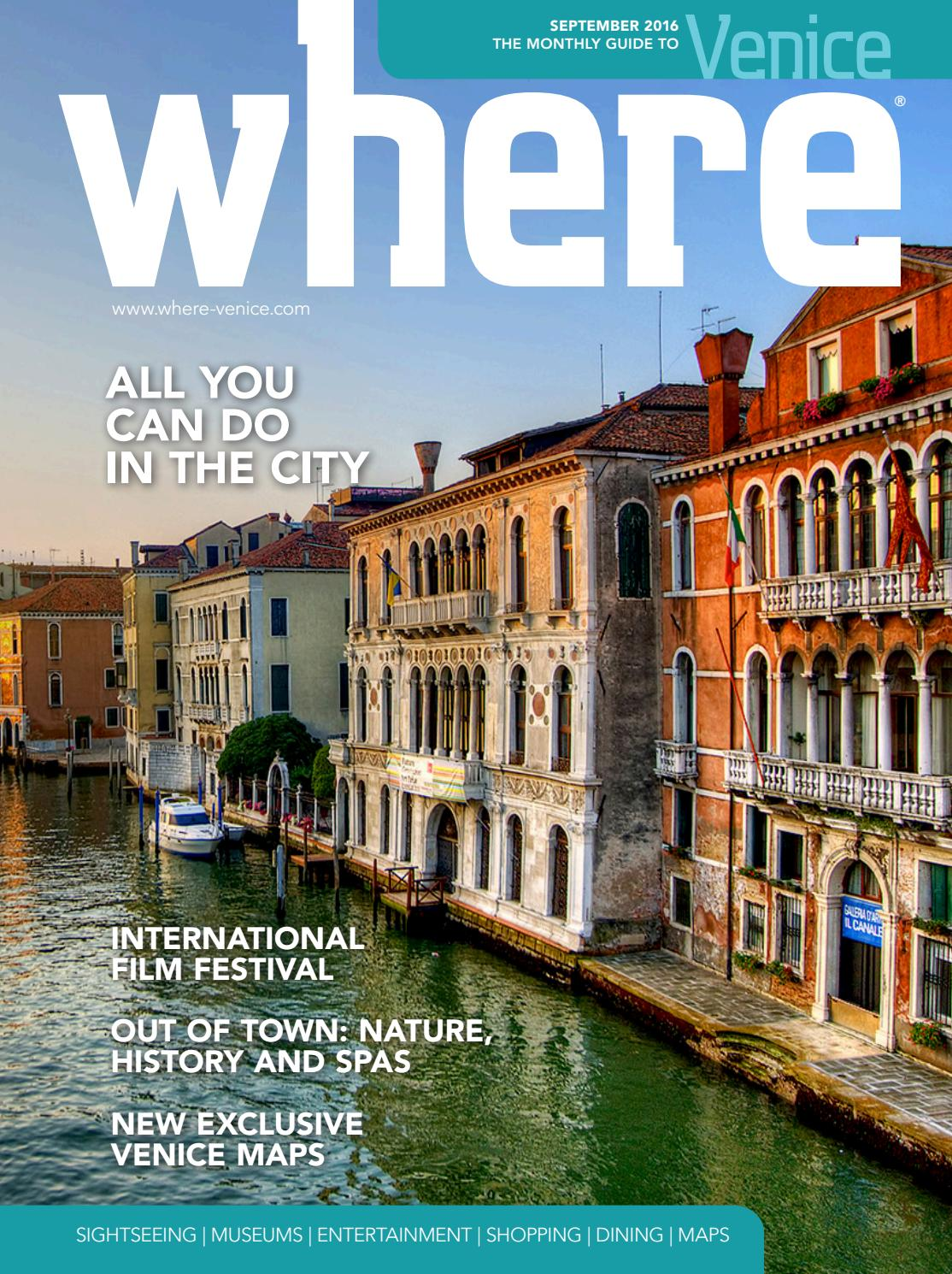 Antica Arte Navagero Murano Where Venice N 1 September 2016 By Where Italia Issuu