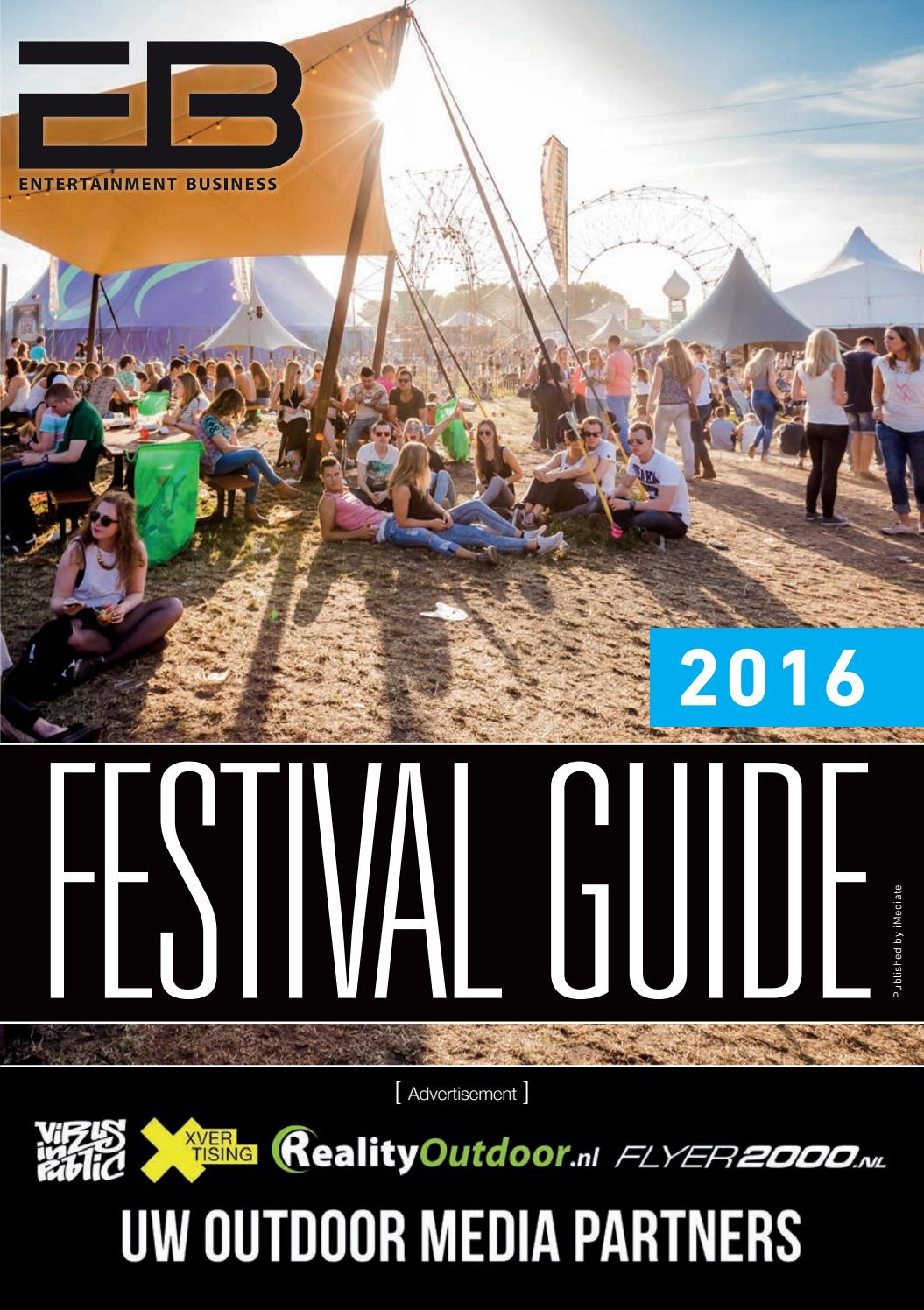 Zwembad Bladel Vrijzwemmen Eb Festival Guide 2016 By Entertainment Business Issuu