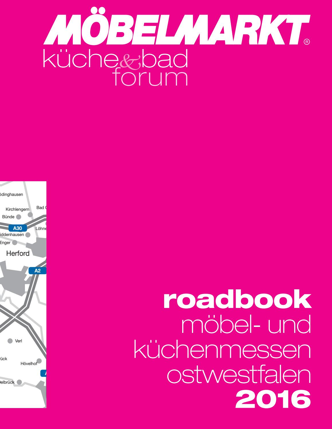 Moebelmarkt 09 2016 Roadbook Lowres By Rsm Kommunikations Marketing Gmbh Issuu