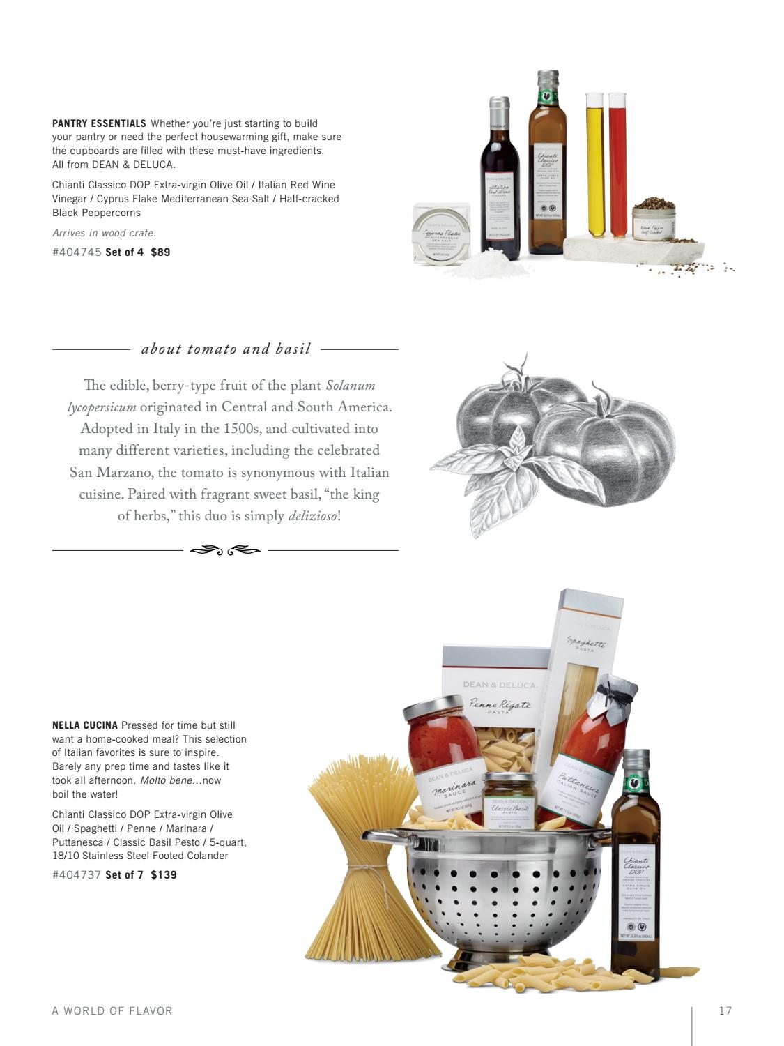 Nella Cucina Products Dean Deluca Corporate Gifting Fall 2016 Spring 2017 By Dean