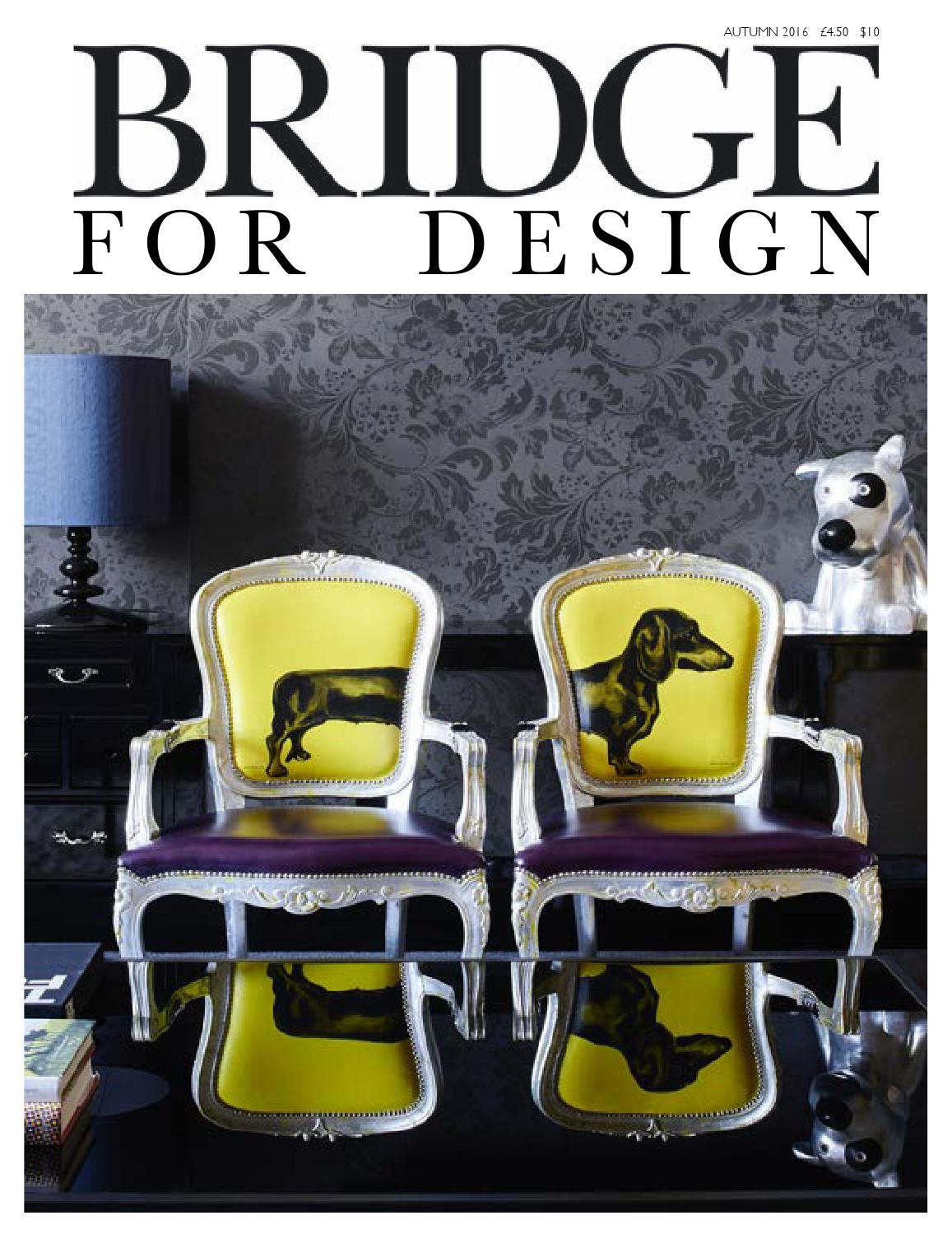 Autumn 2016 By Bridge For Design Issuu