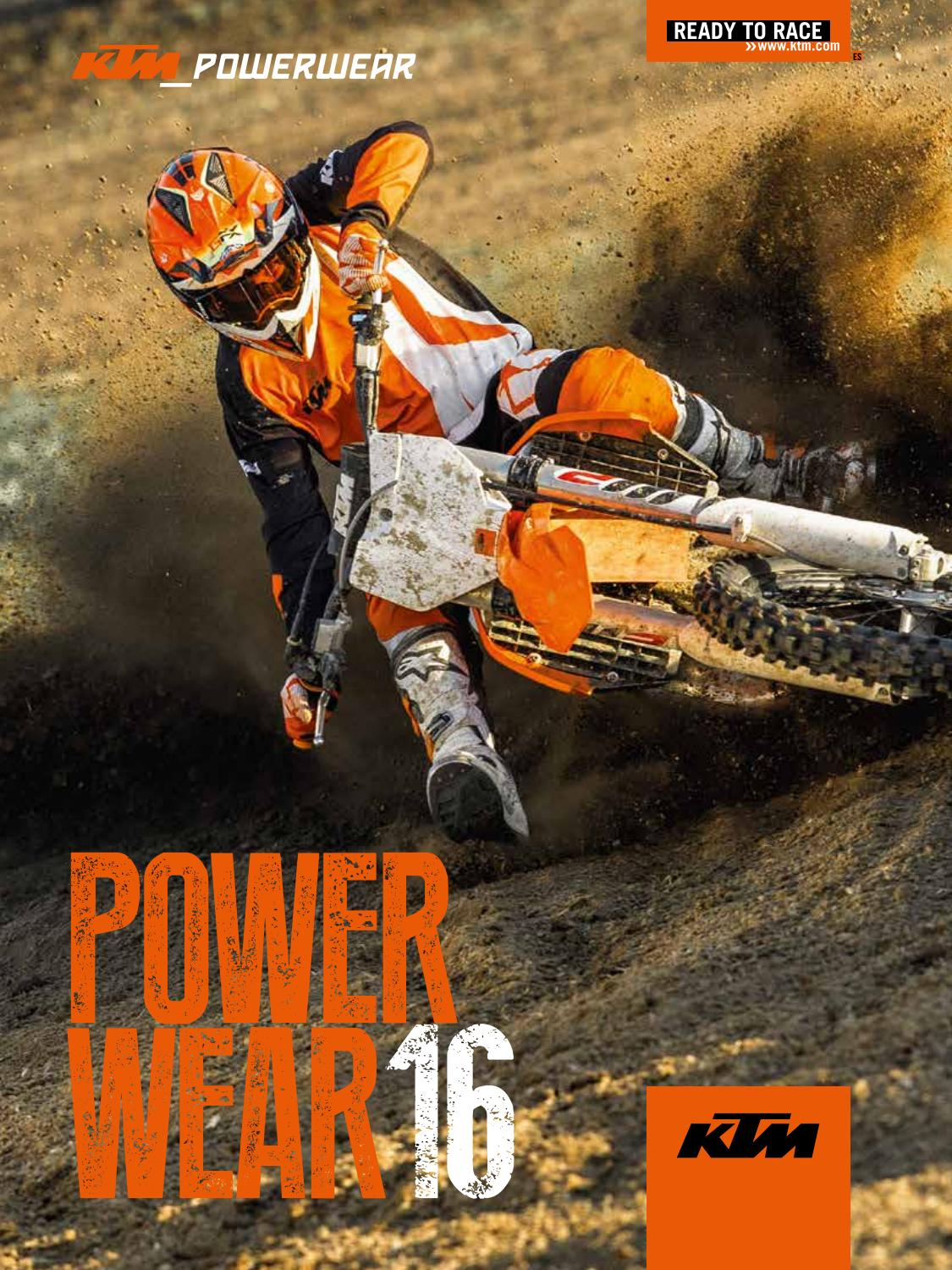 Race Sillas Bebe 2019 Catálogo Ktm Powerwear 2016 By Secomoto Ktm Madrid Issuu