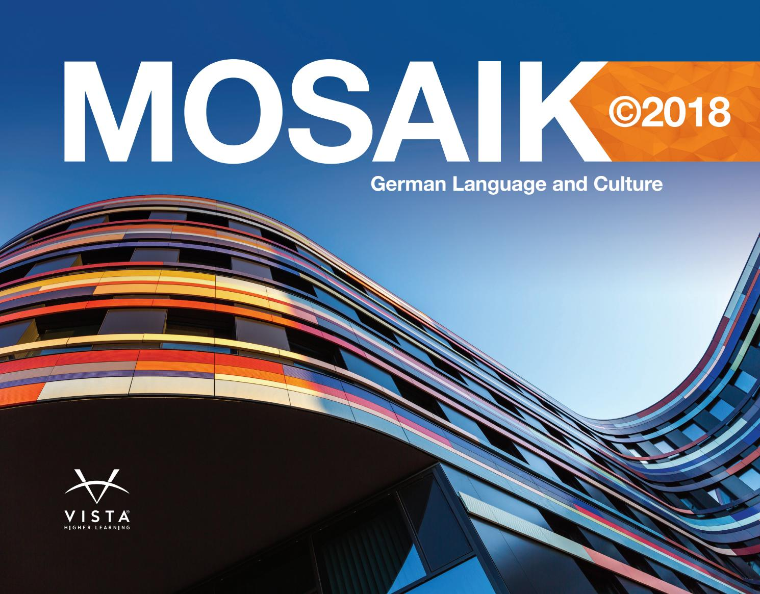 Mosaik Bad Set Mosaik 2018 Brochure By Vista Higher Learning Issuu