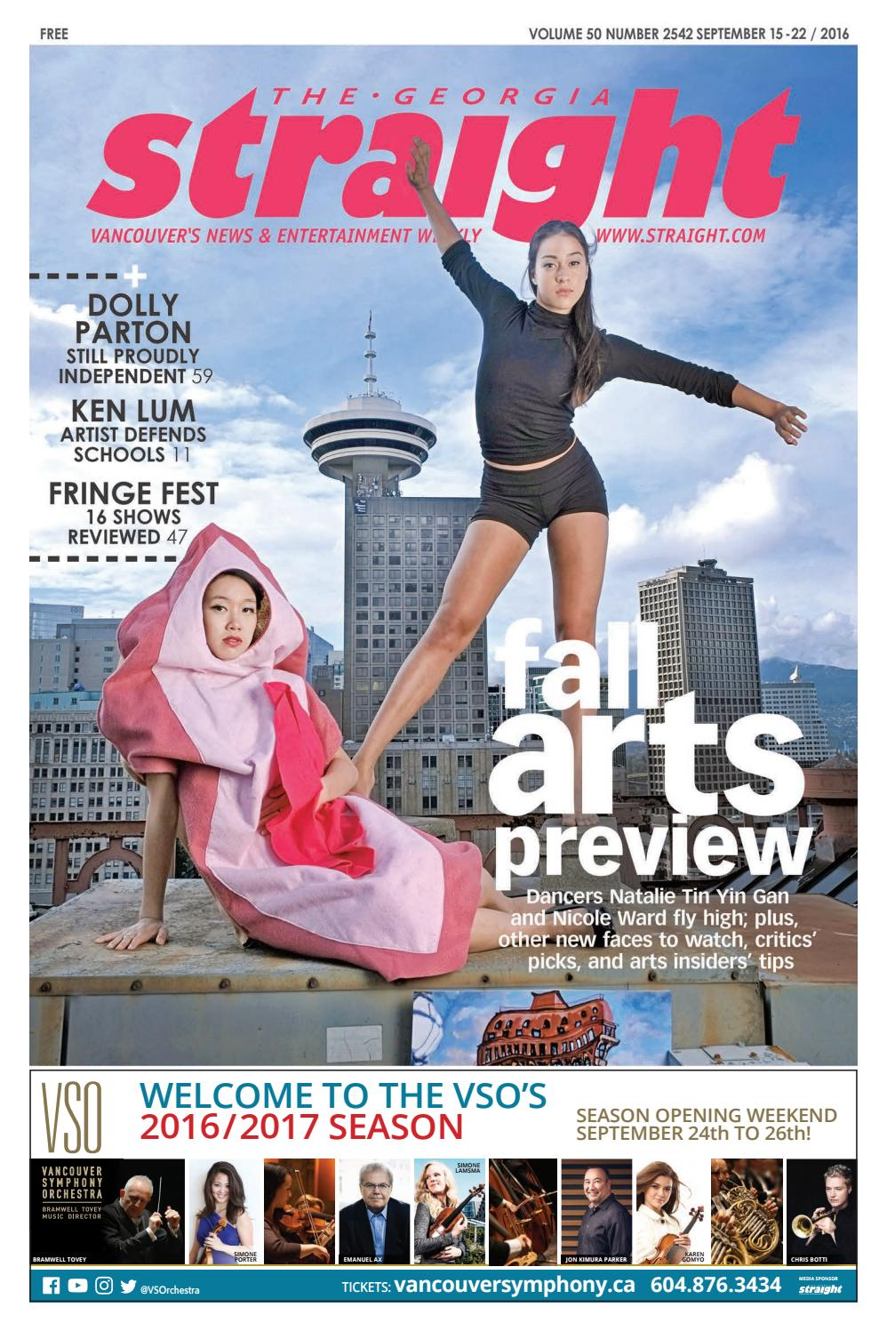 Arts Et Rangements Christine Roy The Georgia Straight Fall Arts Preview Sept 15 2016 By The