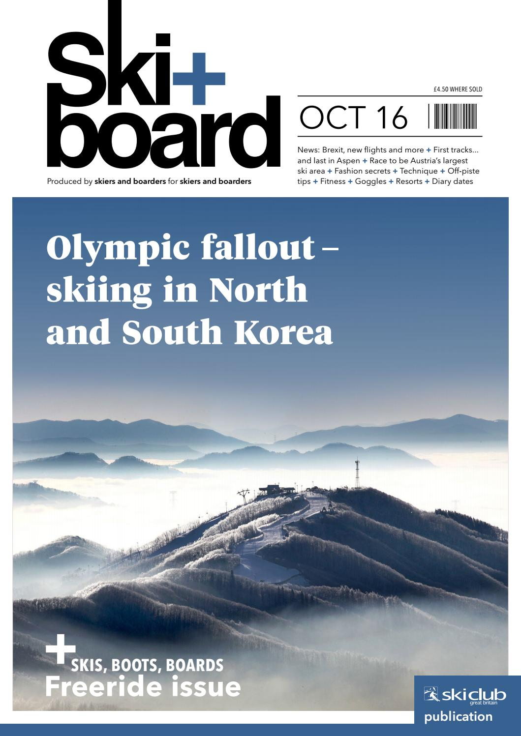 Festival Les Cheminées Du Rock Ski Board October 2016 By Ski Club Of Great Britain Issuu