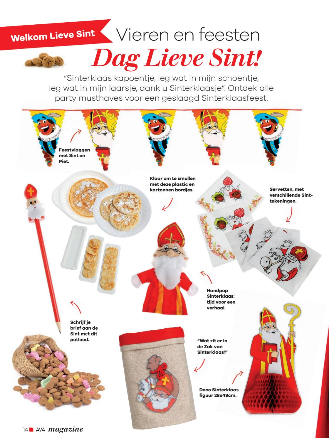 Sinterklaas Kapoentje Ava Magazine 2016 3 September Nl By Ava Nv Issuu