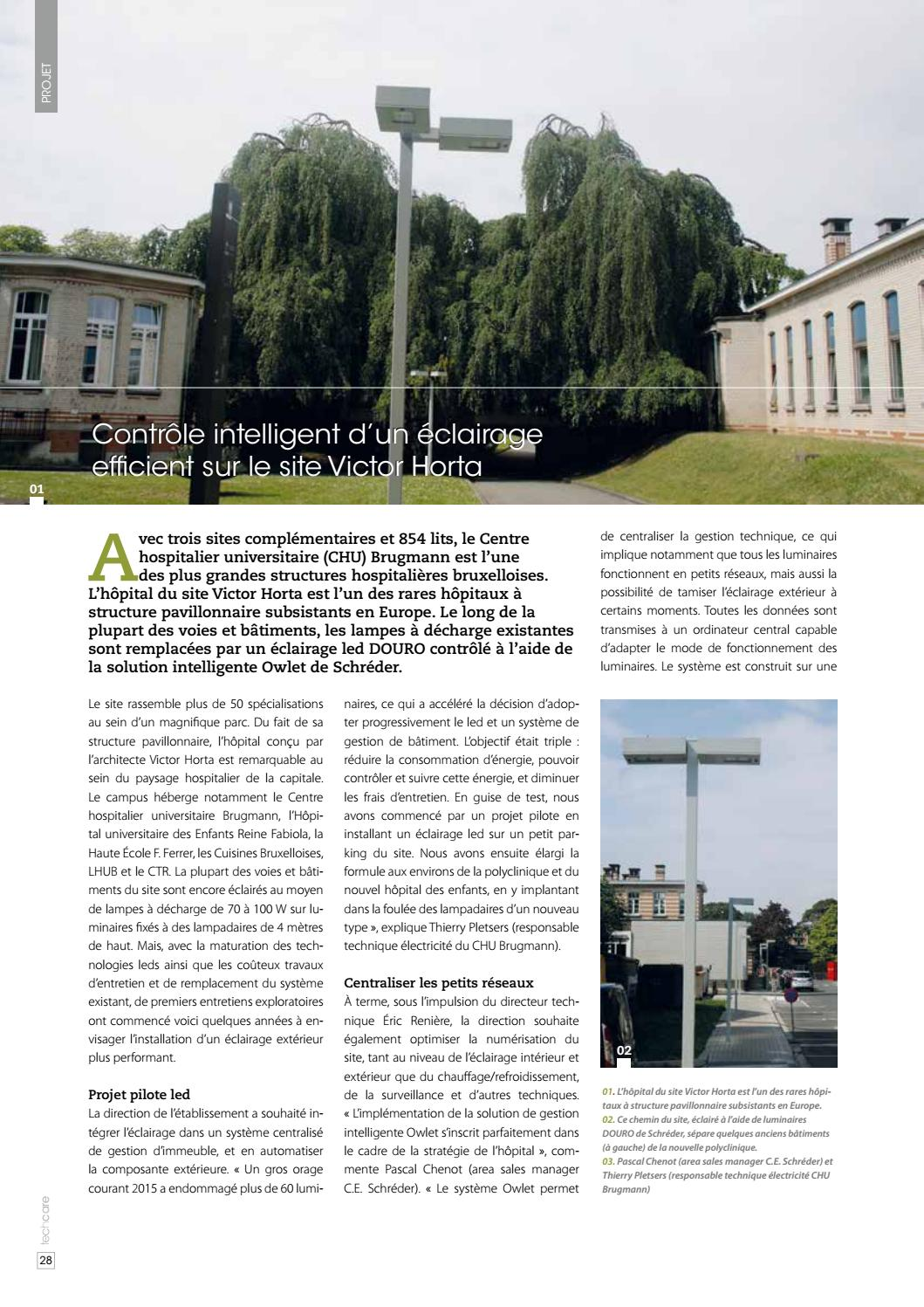 Gestion Eclairage Exterieur Techcare 15 Fr By Techcare Magazine Issuu