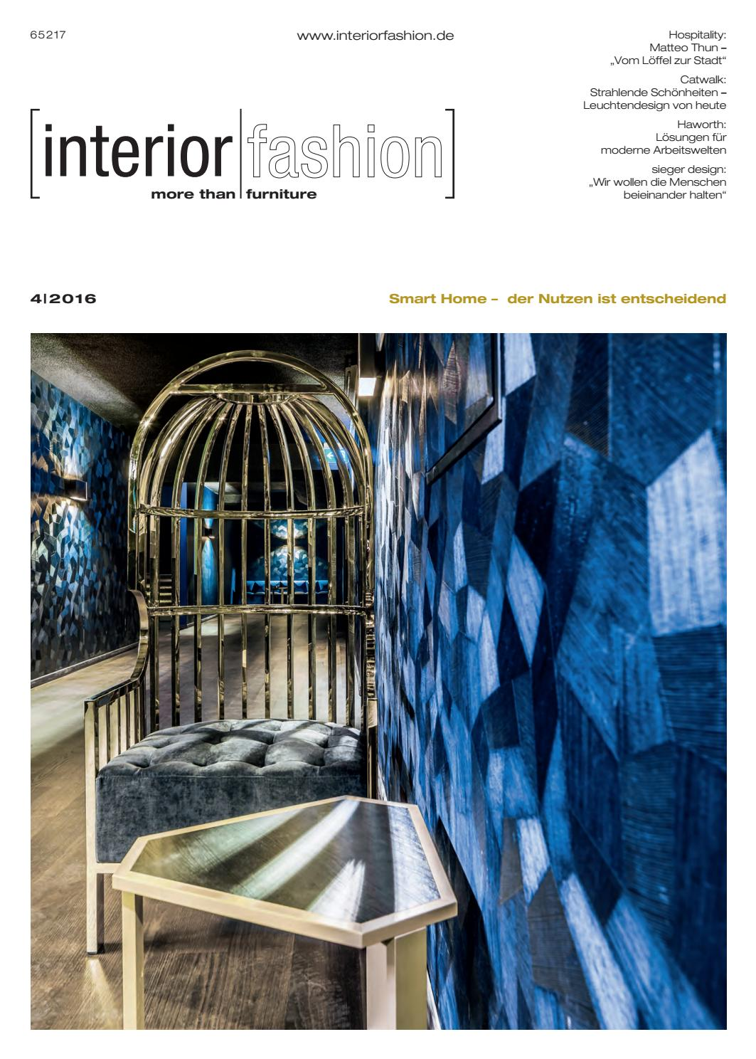 Tagesdecken Betten Reiter Interiorfashion 4 2016 By Interiorfashion Issuu