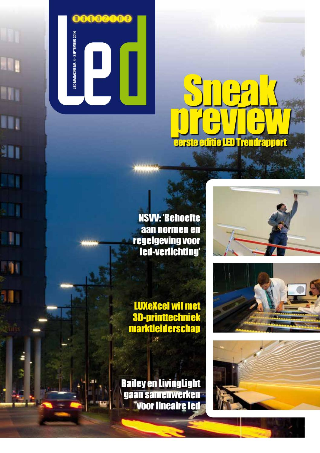 Telemanagement Openbare Verlichting Ledmagazine 3 2014 By Leon De Wit Issuu
