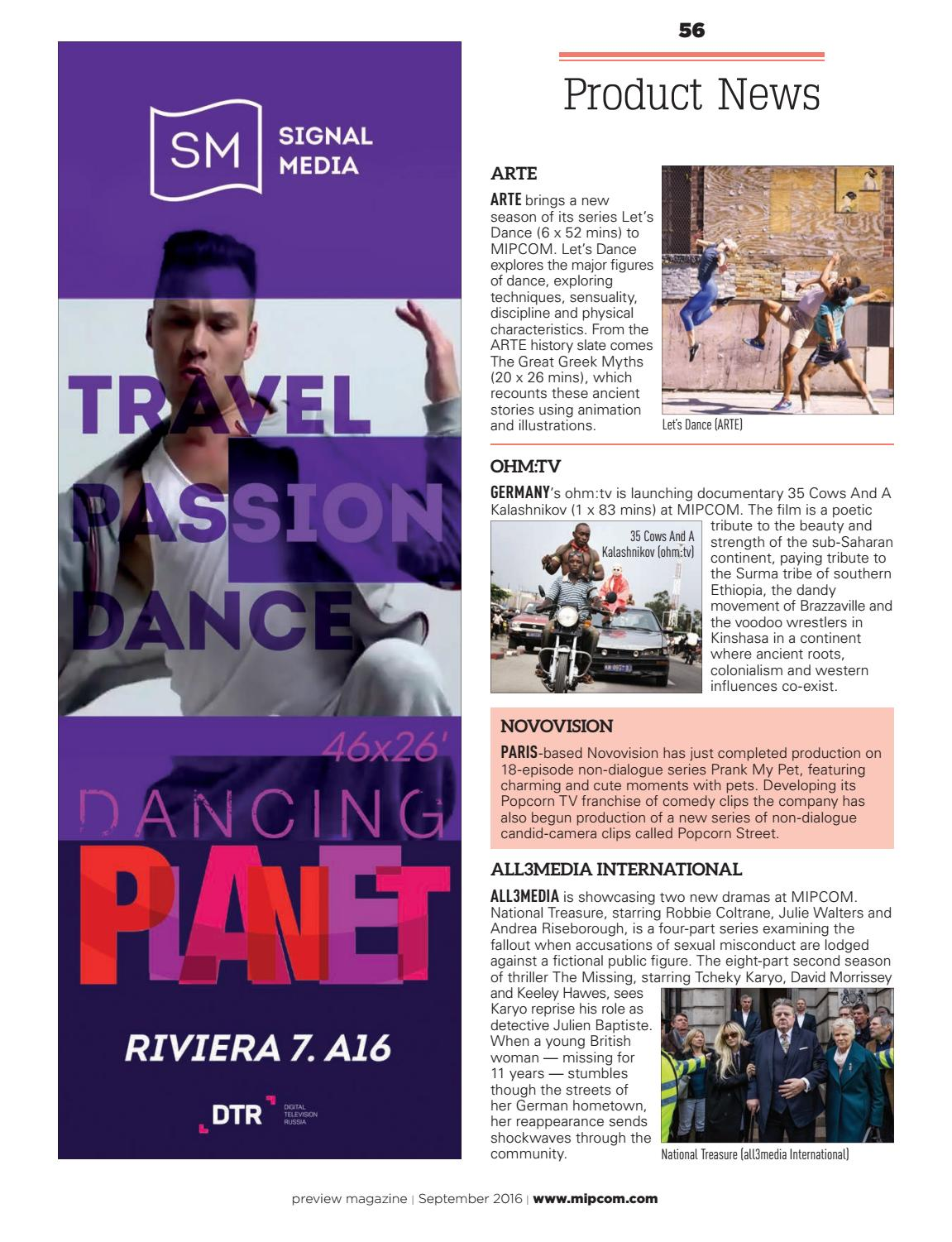 Arte Tv Film 18 Mipcom 2016 Preview Magazine By Mipmarkets Issuu