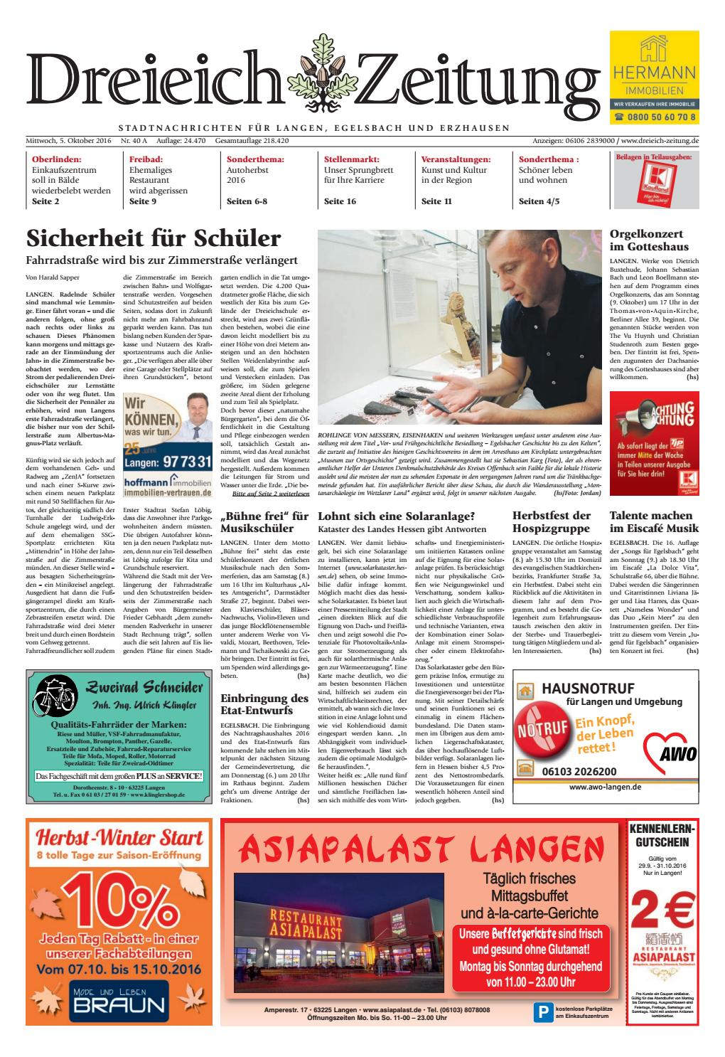 Dz Online 040 16 A By Dreieich Zeitung Offenbach Journal Issuu