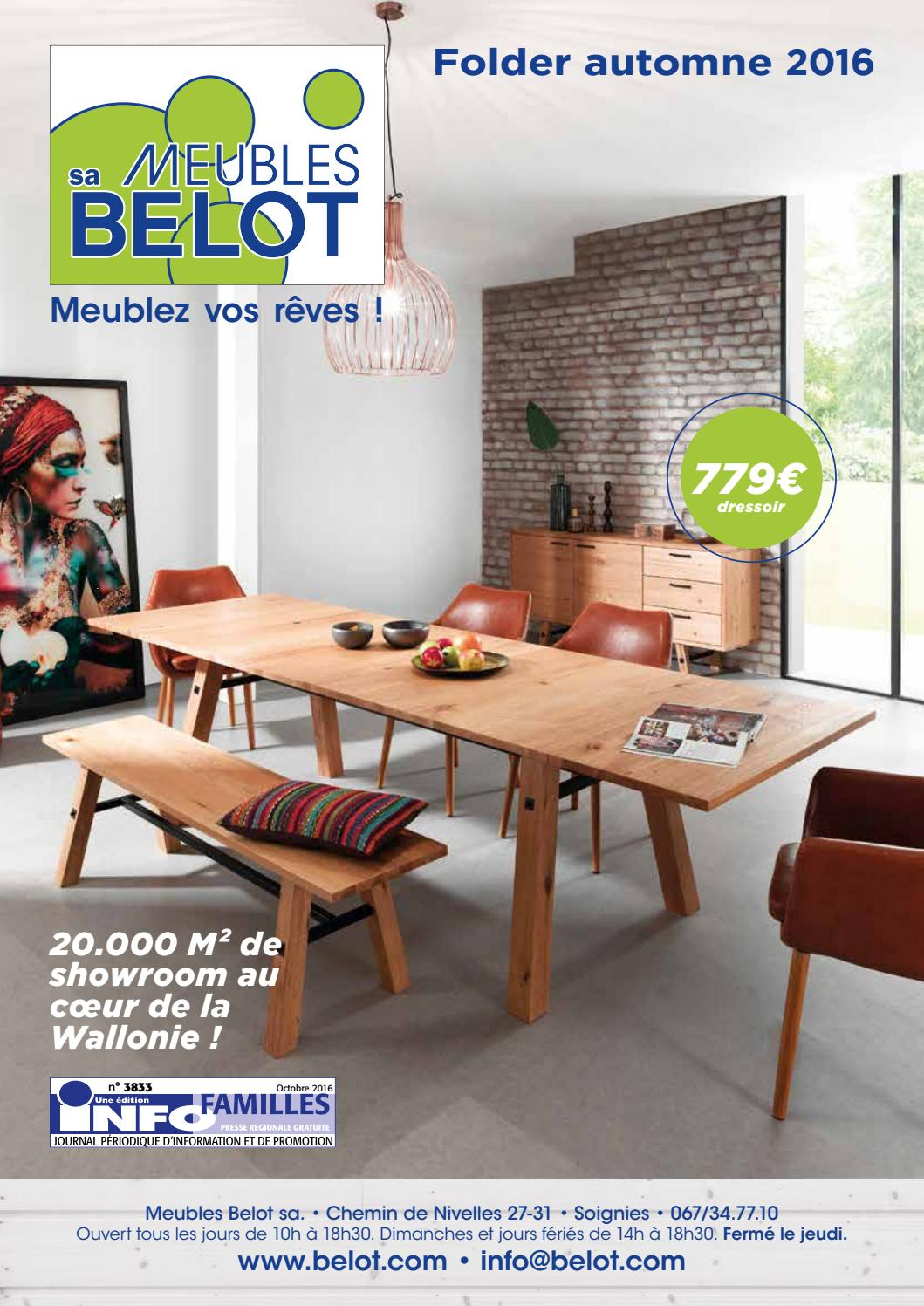 Meuble Belot Porte Manteau Meubles Belot Folder Automne 2016 By Meubles Belot Sa Issuu