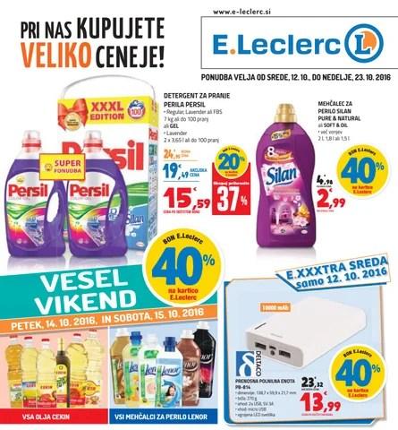 Entry5 E Leclerc Maribor Velja Od 12 10 Do 23 10 2016 By E