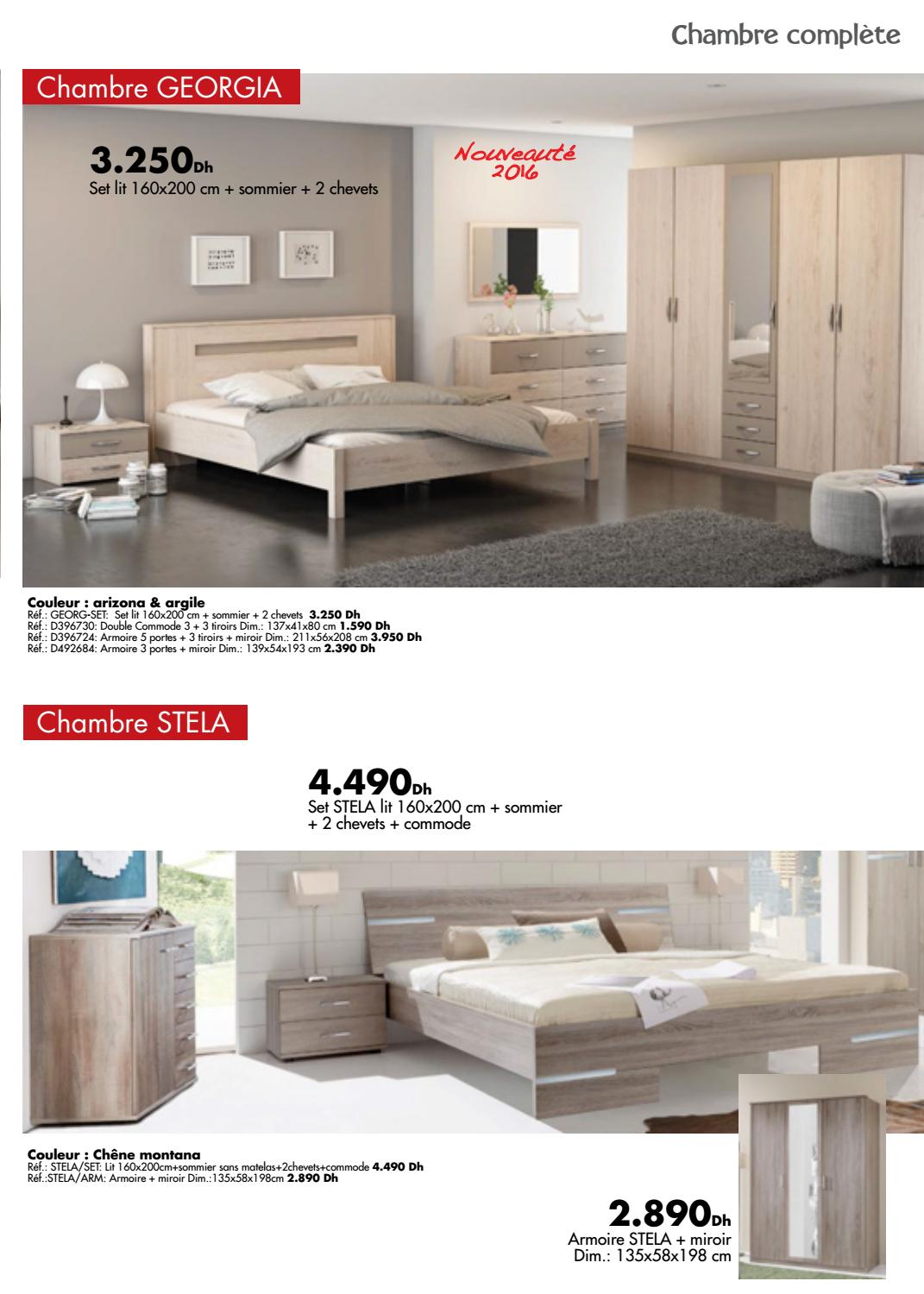 Commodes Kitea Kitea Chambre Coucher 2016 By Promotion Au Maroc Issuu