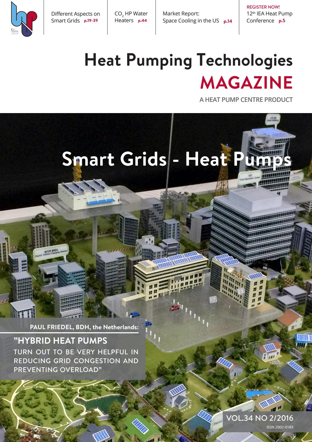 Pool Wärmepumpe Green Heat Inverter 10 5 Kw Heat Pumping Technologes Magazine Vol 34 No 2 2016