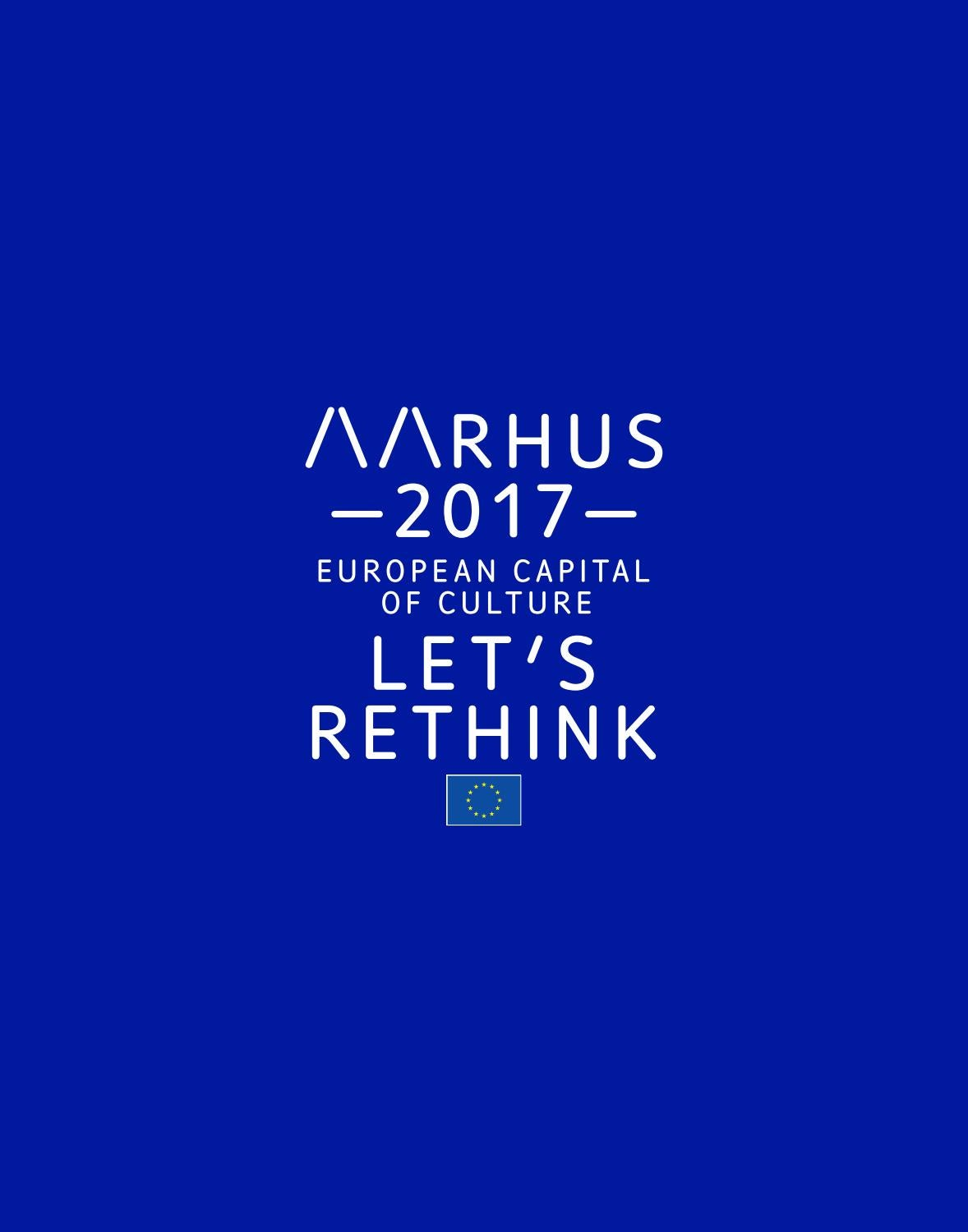 Kulinarisk Test European Capital Of Culture Aarhus 2017 Programme Book By Aarhus