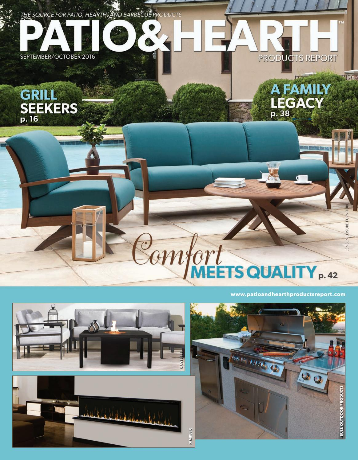 Outdoor Küche Broil King Patio Hearth Products Report September October 2016