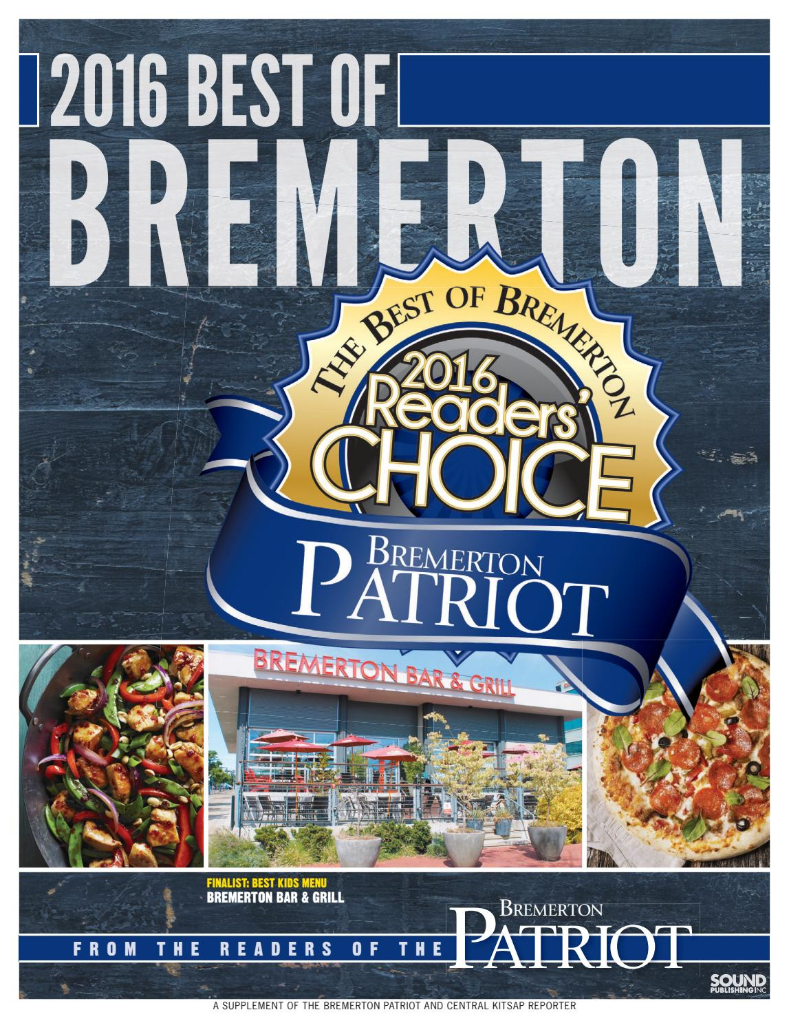 Best Of Best Of Bremerton 2016 By Sound Publishing Issuu
