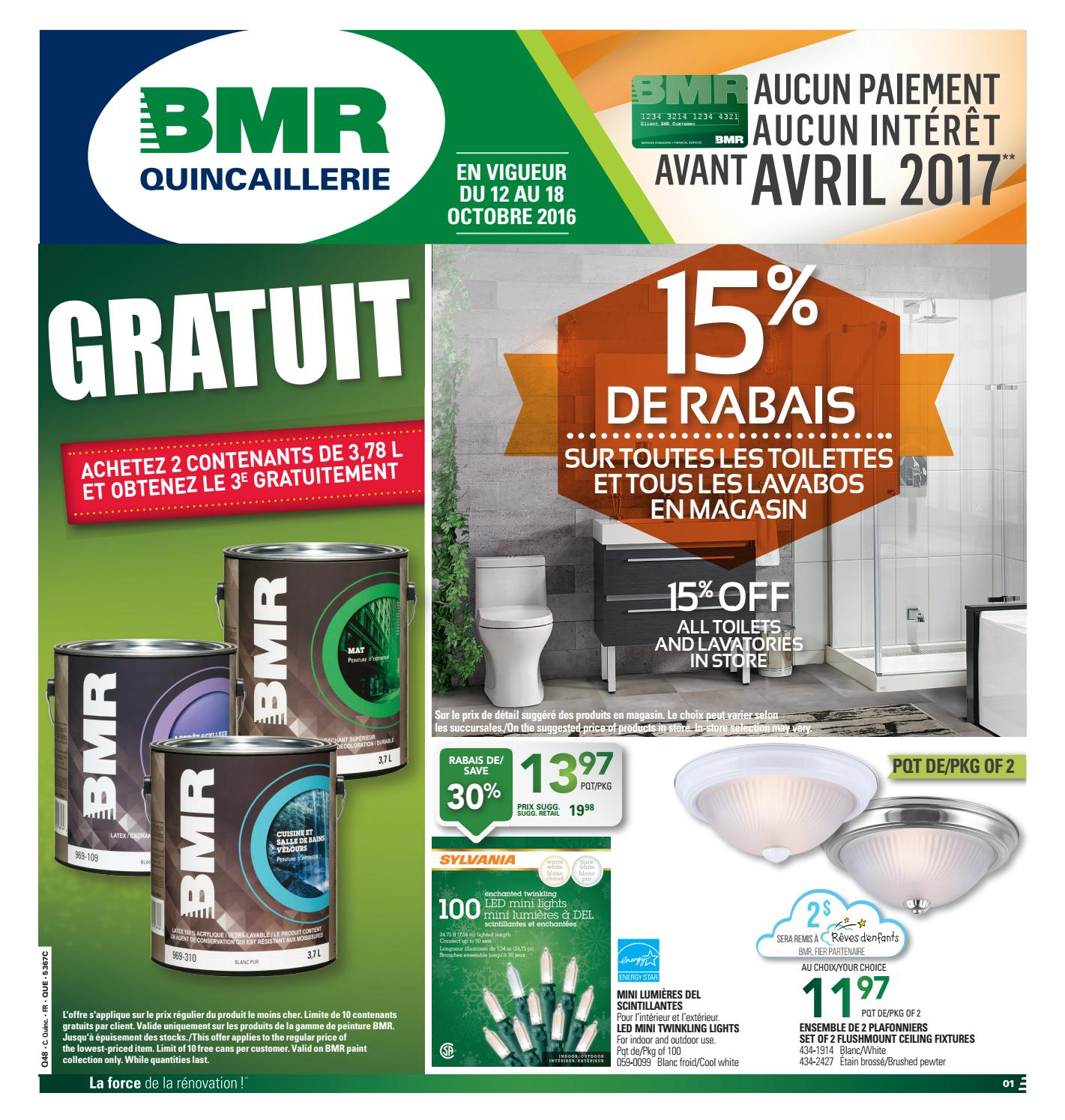 Lumiere Exterieur Bmr Publisac Bmr Flyer 2016 Week42 By Salewhale Issuu