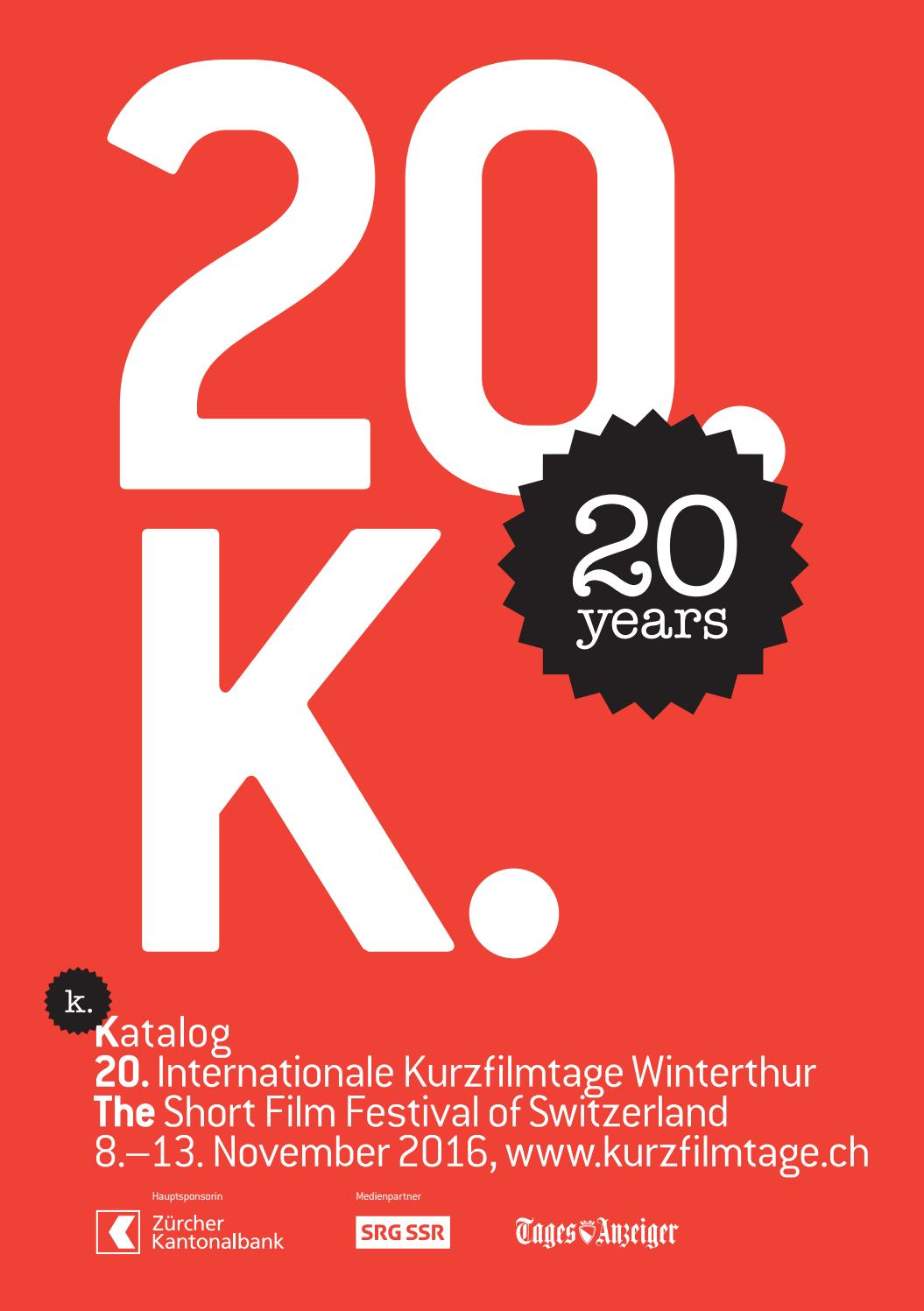 Katalog Katalog 20 Internationale Kurzfilmtage Winterthur By Int