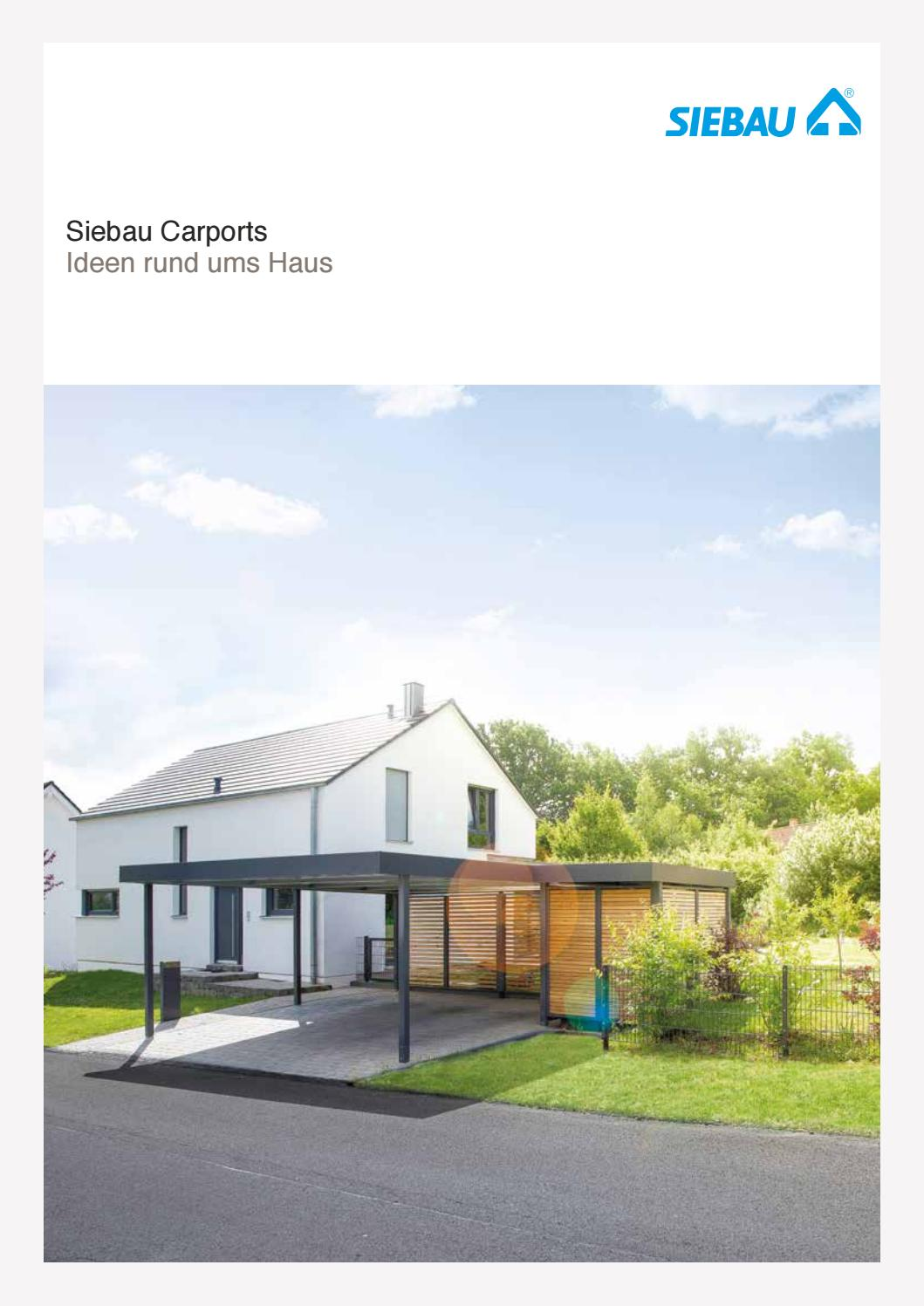 Siebau Carports By Kaiser Design Issuu