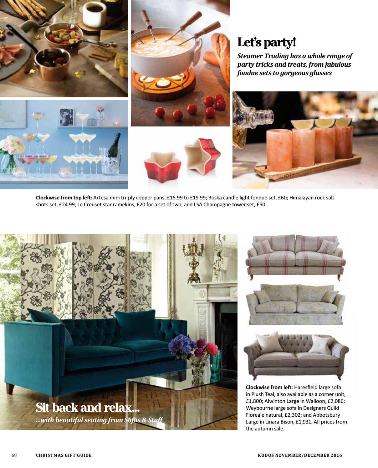 Sofas And Stuff Haresfield Kudos Issue 19