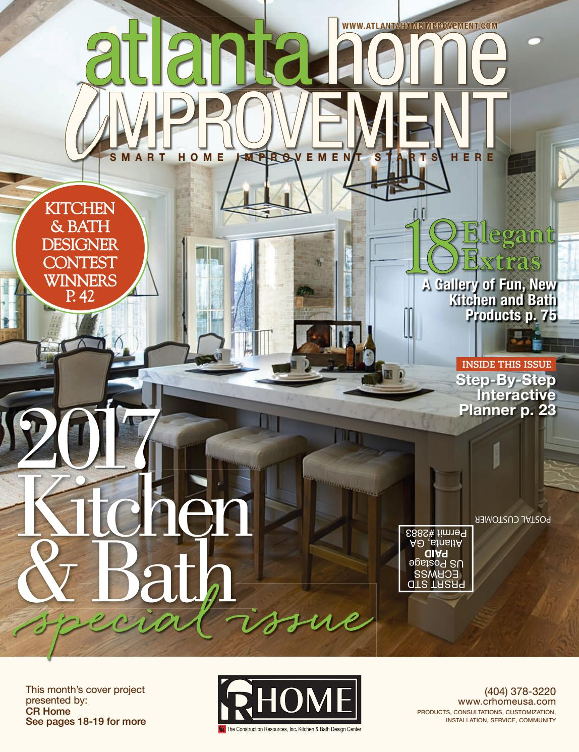 Wallpaper Magazine Kitchen Design Atlanta Home Improvement 2017 Kitchen And Bath Special Issue